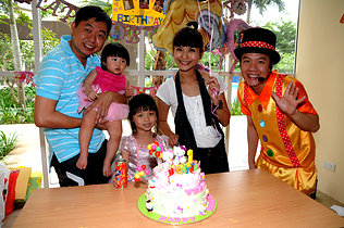 singapore magic show at celebrity child birthday party